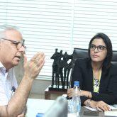 Dimple bawa with Dr Vinod Raina
